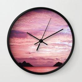 KAILANI LANIKAI Wall Clock