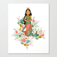 The Sundanese Goddess of Rice and Prosperity Canvas Print