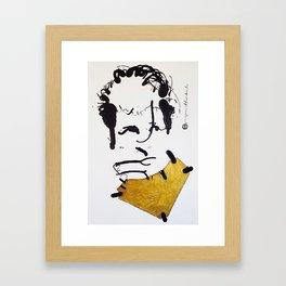 Herman Brood Framed Art Print