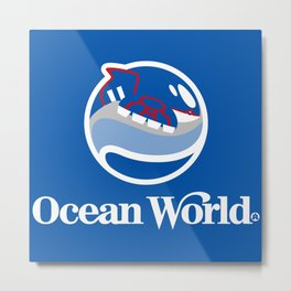 Ocean World Metal Print