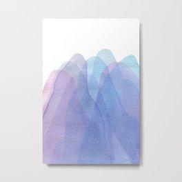 Layers #2 Metal Print