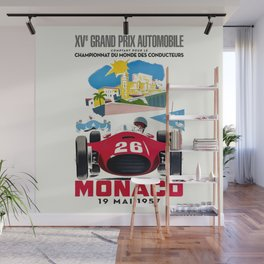Classic Grand Prix Poster Wall Mural