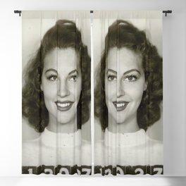 Ava Gardner Blackout Curtain