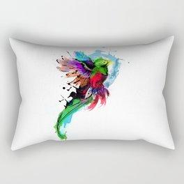 Watercolor Quetzal  Rectangular Pillow