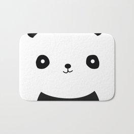 Simple Panda Bath Mat