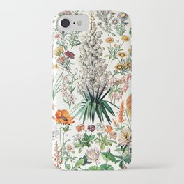 Adolphe Millot - Fleurs B - French vintage poster iPhone Case