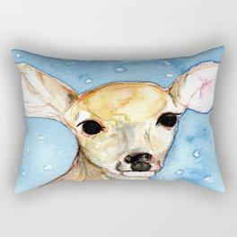 Hello, deer. Rectangular Pillow