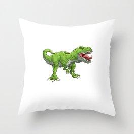 T Rex Tyrannosaurus Rex T-Rex & Dinosaurs Dino Throw Pillow