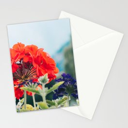 Red Flowers, Leavenworth Stationery Cards