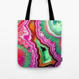 Unicorn Candy Quartz Crystal Agate Tote Bag