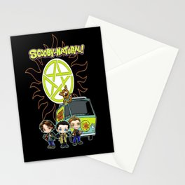 Scoobynatural And The Crew Stationery Cards