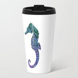 SEAHORSE GLITTER Travel Mug