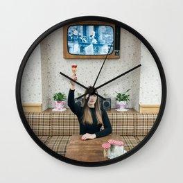 Salut! Wall Clock