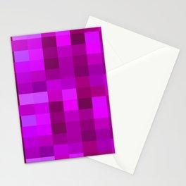 Purple Mosaic Stationery Cards
