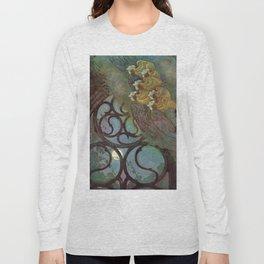 """The Bells"" Fairy Tale Art by Edmund Dulac Long Sleeve T-shirt"