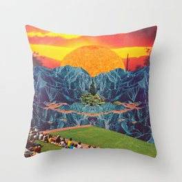 Parque del Sol  Throw Pillow