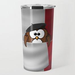 Frenchy owl Travel Mug