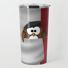 Frenchy owl Travel Mug