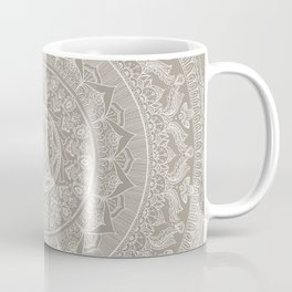Mandala - Taupe Coffee Mug
