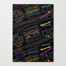 ness control pattern Canvas Print