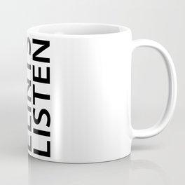 Silent Listen Coffee Mug