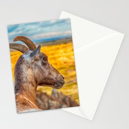 watching the wildlife watching me Stationery Cards