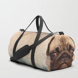 Sir Puggington Duffle Bag