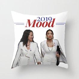2019 Mood: SOTU Throw Pillow