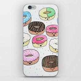 Kawaii Donuts iPhone Skin