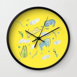 sunday mood Wall Clock