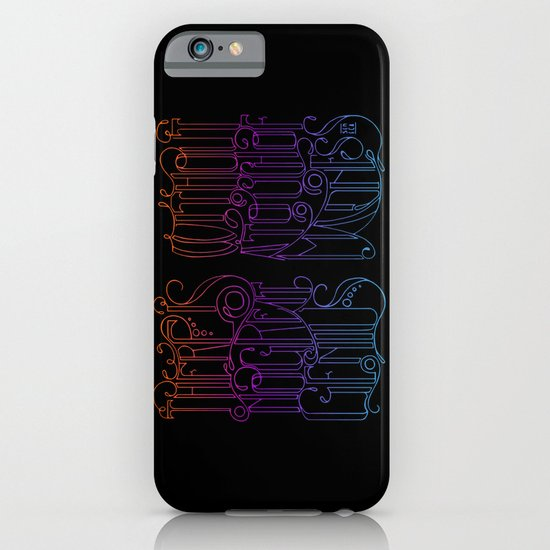 There is no Great Genius Without a Touch of Madness iPhone & iPod Case