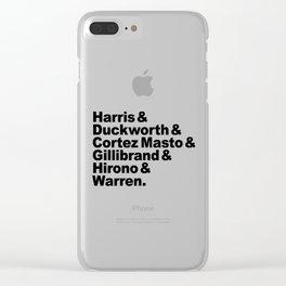 nasty women: senators Clear iPhone Case