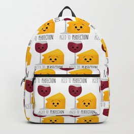 Aged To Perfection - Wine & Cheese Backpack