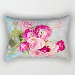 Bunches of Pink II Rectangular Pillow