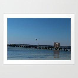 Bokeelia Pier Art Print