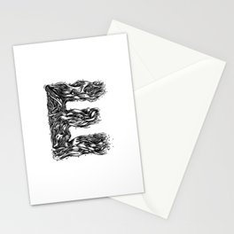The Illustrated E Stationery Cards