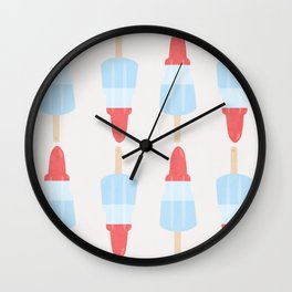 Rocket Lollies Wall Clock