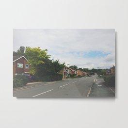 Quaint Surrey Street Metal Print
