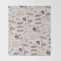 Afernoon Tea Pattern by bowillustration