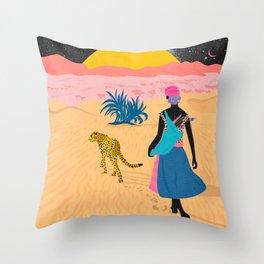 Desert_ Throw Pillow