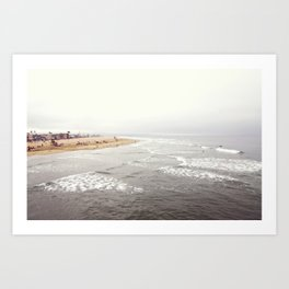 Multilayered Tide Art Print