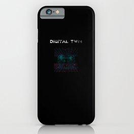 Digital Twin Design for computer scientist iPhone Case