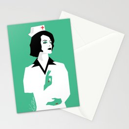 Darkest Hour gig poster Stationery Cards