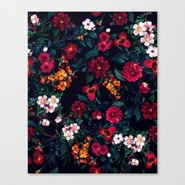 The Midnight Garden Canvas Print