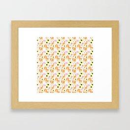 Spring Shiba Framed Art Print