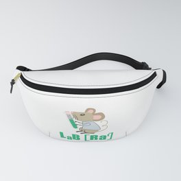Lab Rat Science Chemistry Teacher Student Gift Fanny Pack