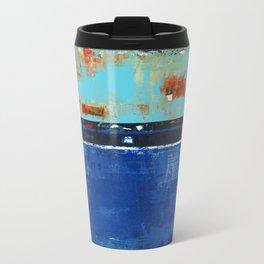 Dress Blues Metal Travel Mug