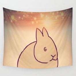 Rabbit-187 Wall Tapestry