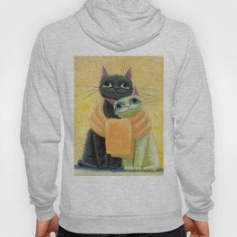 cat play Hoody