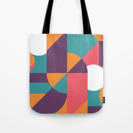 Abstract Colorful Pattern Design Tote Bag